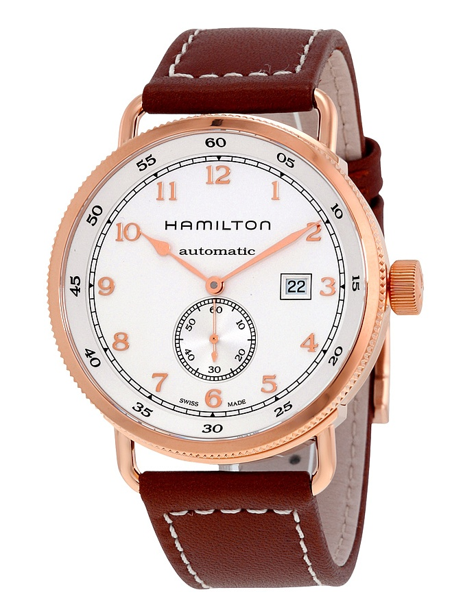 Hamilton Khaki Navy Pioneer Automatic Silver Dial Mens Watch H77745553 by Hamilton