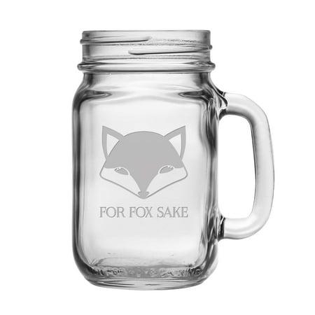 Susquehanna Glass For Fox Sake Drinking Jars (Set of 4)