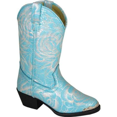 Smoky Mountain Girl's Lexie Turquoise Cowboy Boots 1605 (Turquoise Cowboy Boots)