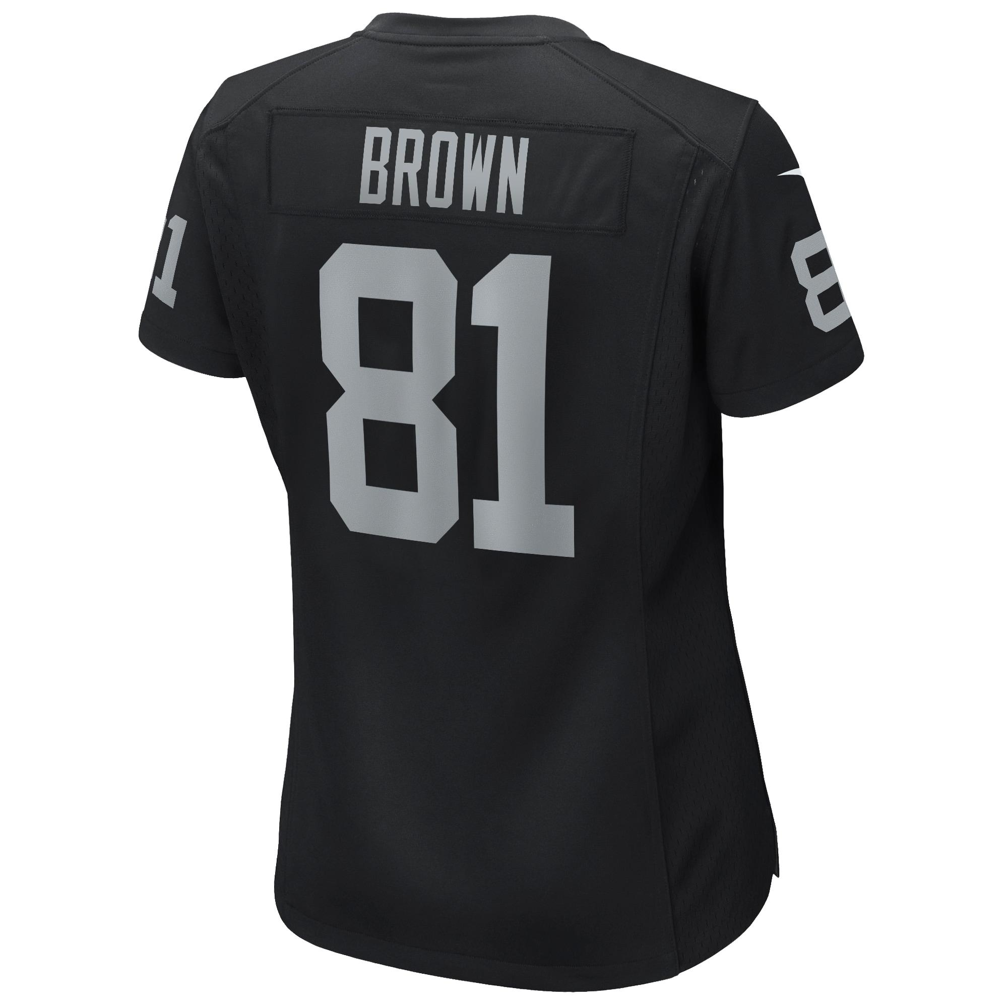 Tim Brown Las Vegas Raiders Nike Women's Game Retired Player ...