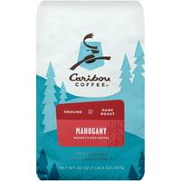 Caribou Coffee Mahogany Dark Roast Ground Coffee 20 oz. Bag