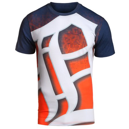 MLB Klew Big Logo T-Shirt Team Color Detroit Tigers by