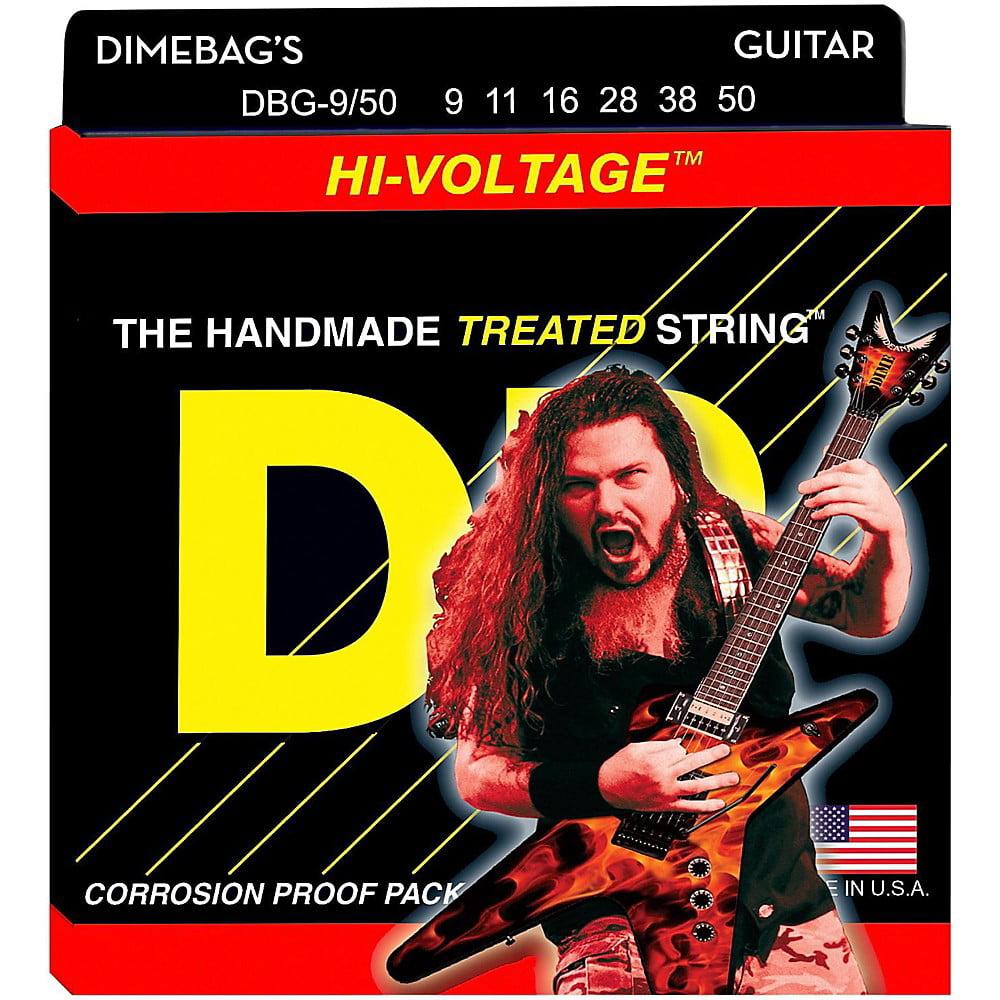 DR Strings Dimebag Darrell DBG-9/50 Signature Hi-Voltage Electric Guitar Strings