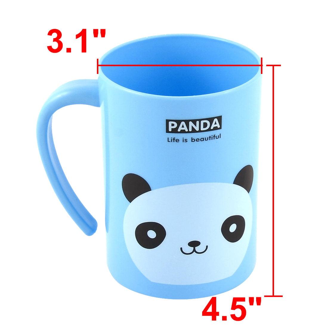Uxcell Plastic Cartoon Panda Pattern Toothbrush Holder