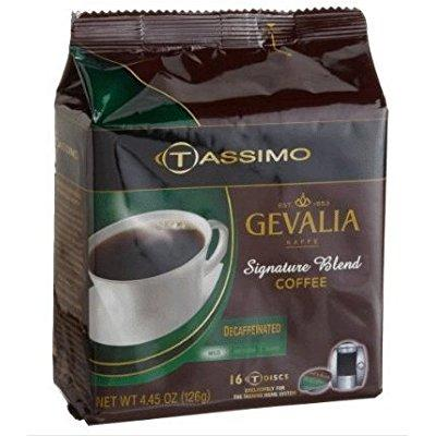 Kraft tassimo signature blend decaf t-discs, 80ct