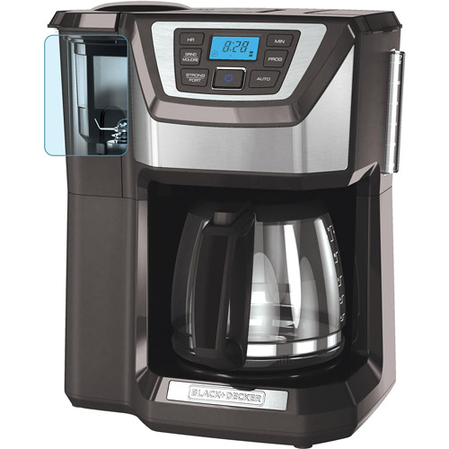 Black & Decker Mill and Brew 12-Cup Programmable Coffee Maker with Grinder