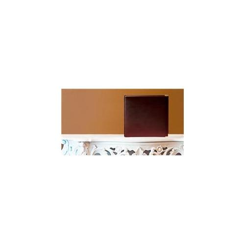 Leather Album Designs CM80041010645B Matted 10X10 Burgandy Genuine Leather 45 Pg - 90 Side Album
