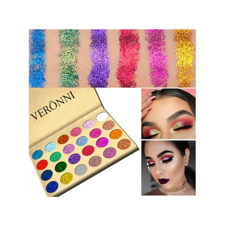 VICOODA Eyeshadow Palette, 24 Colors Matte Glitter Shimmer Highly Pigmented and Long Lasting Eye Shadow Powder Makeup Cosmetic