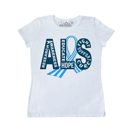 ALS Awareness ribbon Women's T-Shirt