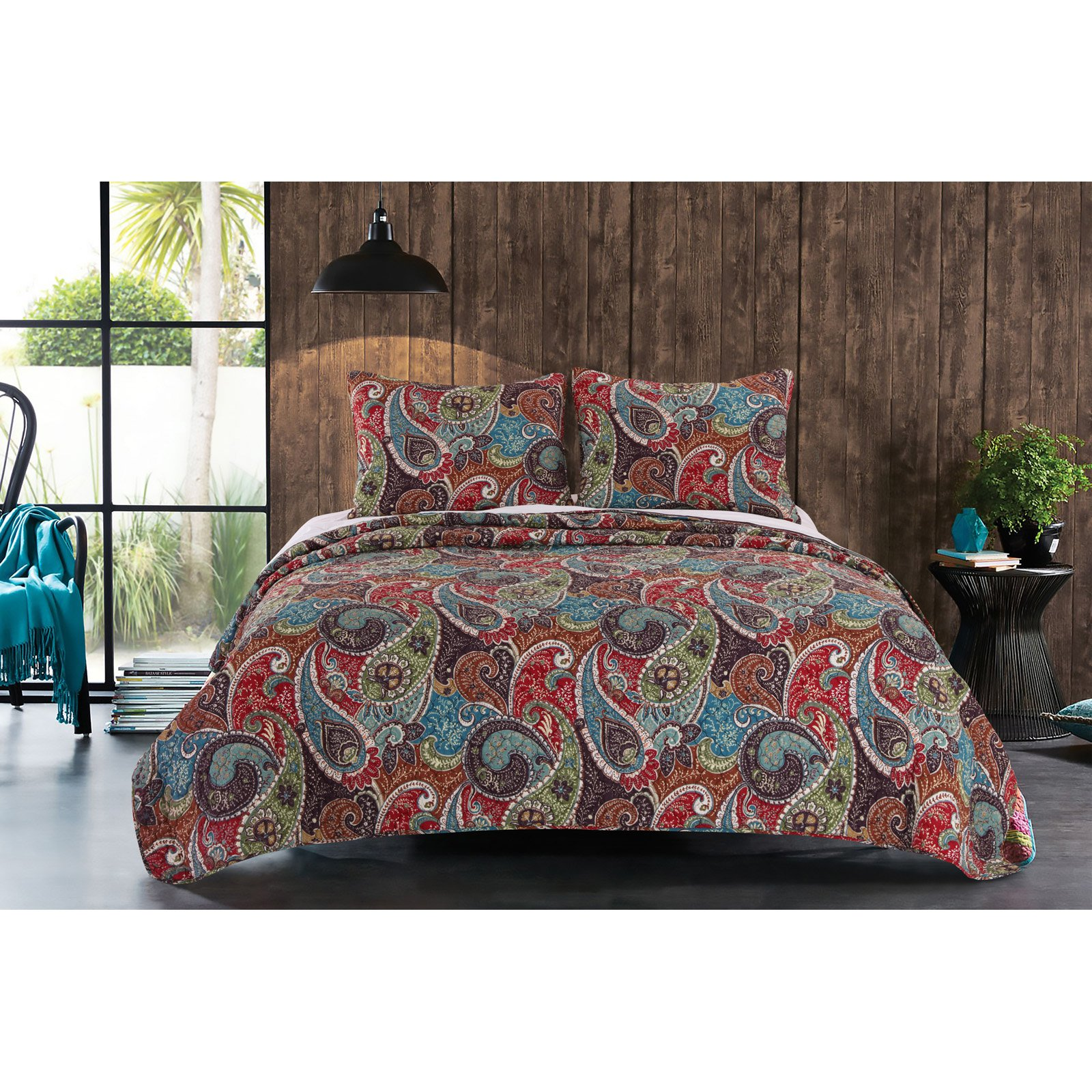 Tivoli Quilt Set by Greenland Home