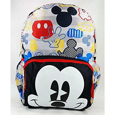 "KBNL Backpack - Disney - Mickey Mouse Big Face 16"" New 124625 - image 1 de 1"