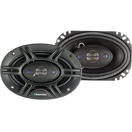"Blaupunkt GTX406 4"" x 6"" 4-Way Coaxial Speakers 240W Max Power"
