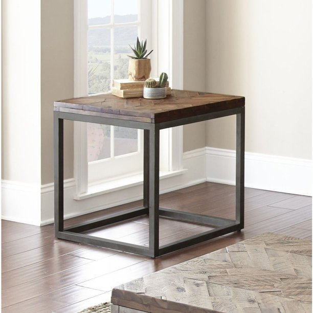 "Greyson Living Lockwood 24-Inch Square End Table by - 24""W x 24""D"