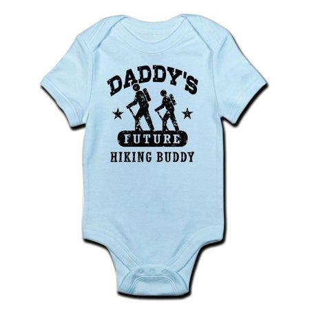 CafePress - Daddy s Future Hiking Buddy Infant Bodysuit - Baby Light ... 8b3231568639