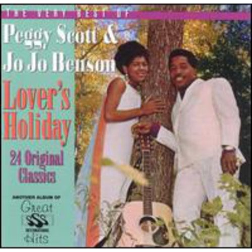 Full title: Lover's Holiday: The Very Best Of Peggy Scott & Jo Jo Benson.<BR>Contains 24 tracks.