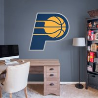 Fathead Indiana Pacers: Logo - Giant Officially Licensed NBA Removable Wall Decal