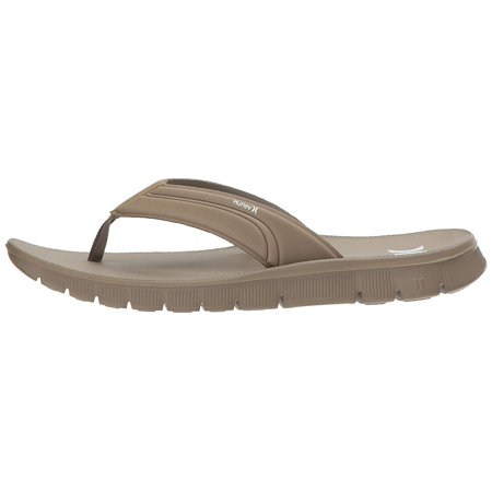 Hurley Mens Fusion Slip On Open Toe Flip Flops
