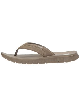 2616065d60ad Product Image Hurley Mens Fusion Slip On Open Toe Flip Flops