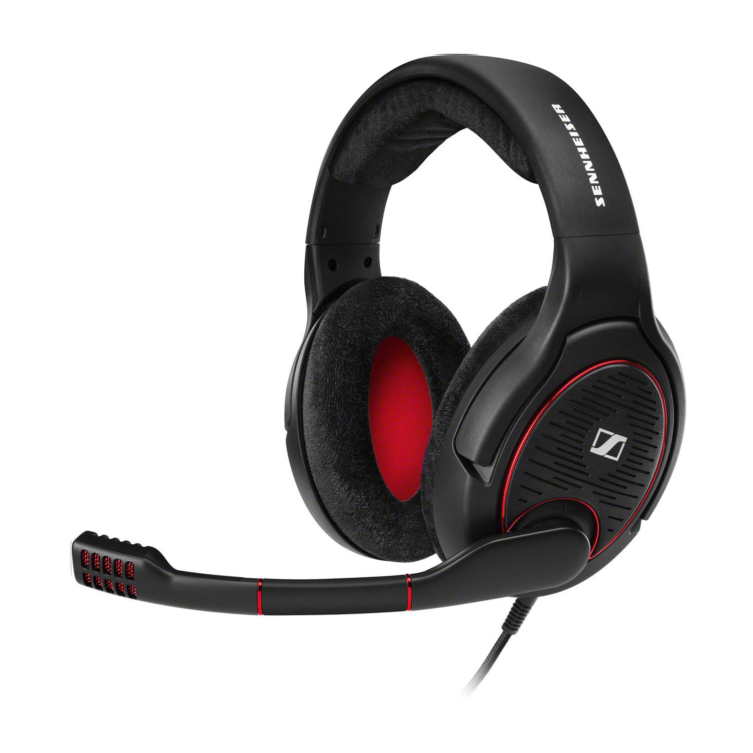 Sennheiser GAME ONE Gaming Headset, Black, 00615104257443