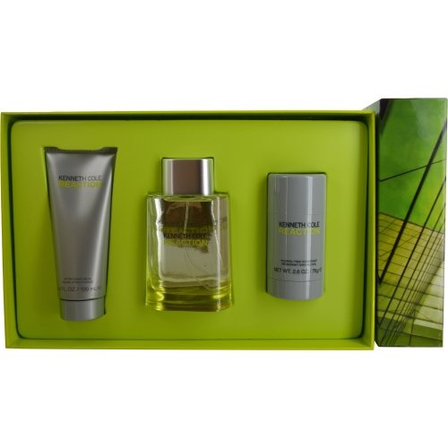 Kenneth Cole Reaction Fragrance Gift Set for Men, 3 pc