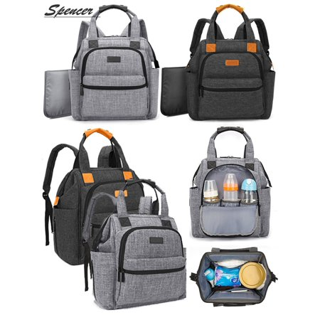 3b2d7aa65d5d Spencer Multi-function Mummy Baby Backpack Diaper Bag Baby Nappy Bag  Changing Bag for Moms
