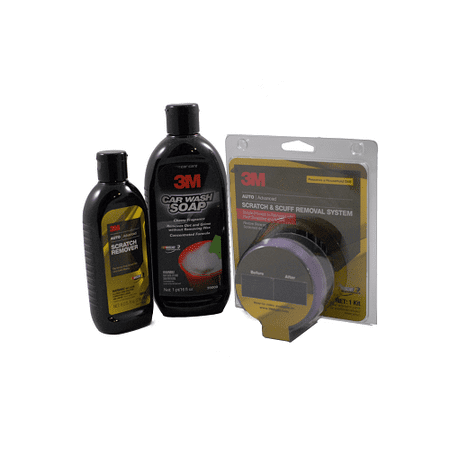 3m 39071 03900 39044 scratch removal system kit polish. Black Bedroom Furniture Sets. Home Design Ideas