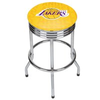 NBA Chrome Ribbed Bar Stool - City - Los Angeles Lakers