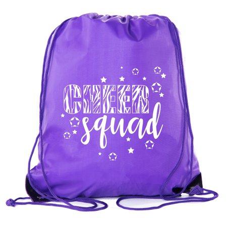 eb847d604fdf Cheer Bags, Pom Pom and Cheerleader drawstring Backpacks, Cheerleader Team  bags