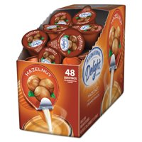 (Pack of 4) International Delight Hazelnut Creamer Singles, 48 count