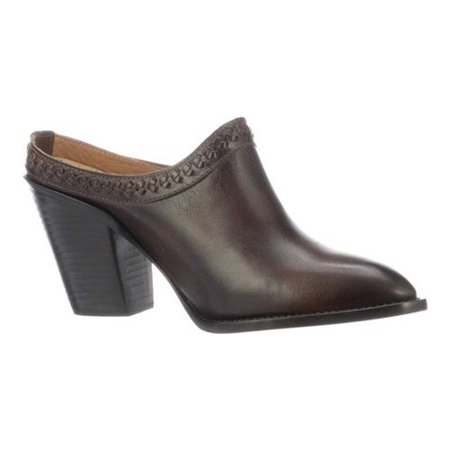 Women's Lucchese Bootmaker Patti Western Mule Cow Western Boots