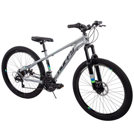 "Huffy 26"" Scout Mens Hardtail 21-Speed Mountain Bike with Disc Brakes"