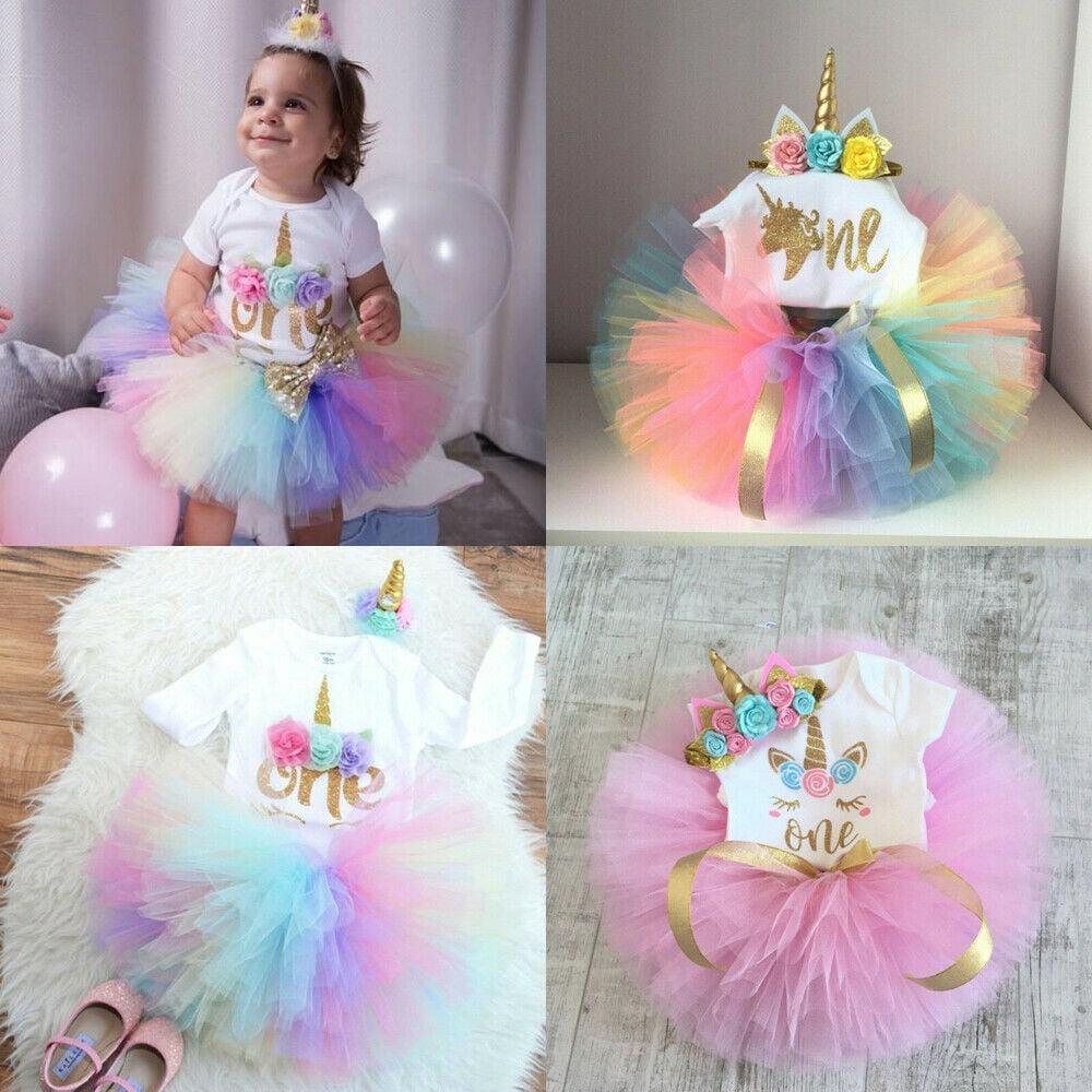 Baby GirlsTutu Skirt with Shorts Newborn Toddler Tulle Skorts 0-24 Months