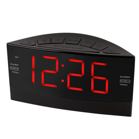 onn alarm clock radio. Black Bedroom Furniture Sets. Home Design Ideas