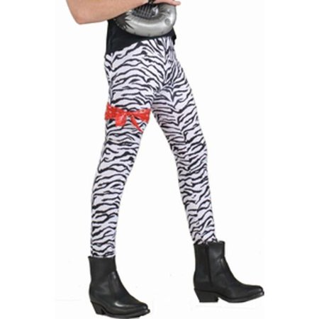 Adult 80's Style Zebra Rocker (80's Costume Ideas With Leggings)