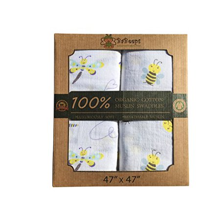 Walmart Swaddle Blankets Gorgeous GOTS Certified Organic 60% Cotton Muslin Baby Swaddle Blanket Or