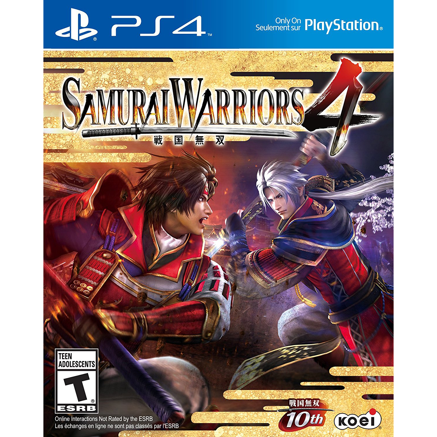 Sony PlayStation 4 Samurai Warriors 4 Video Game