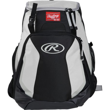 Rawlings R500 Baseball Bat Backpack White