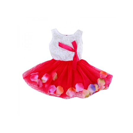 cbca11e1fe65 Ropalia - Ropalia Cute Toddler Baby Kids Girl Dress Princess Dress ...
