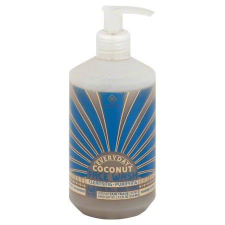 Alaffia Everyday Coconut Face Wash, 12 oz