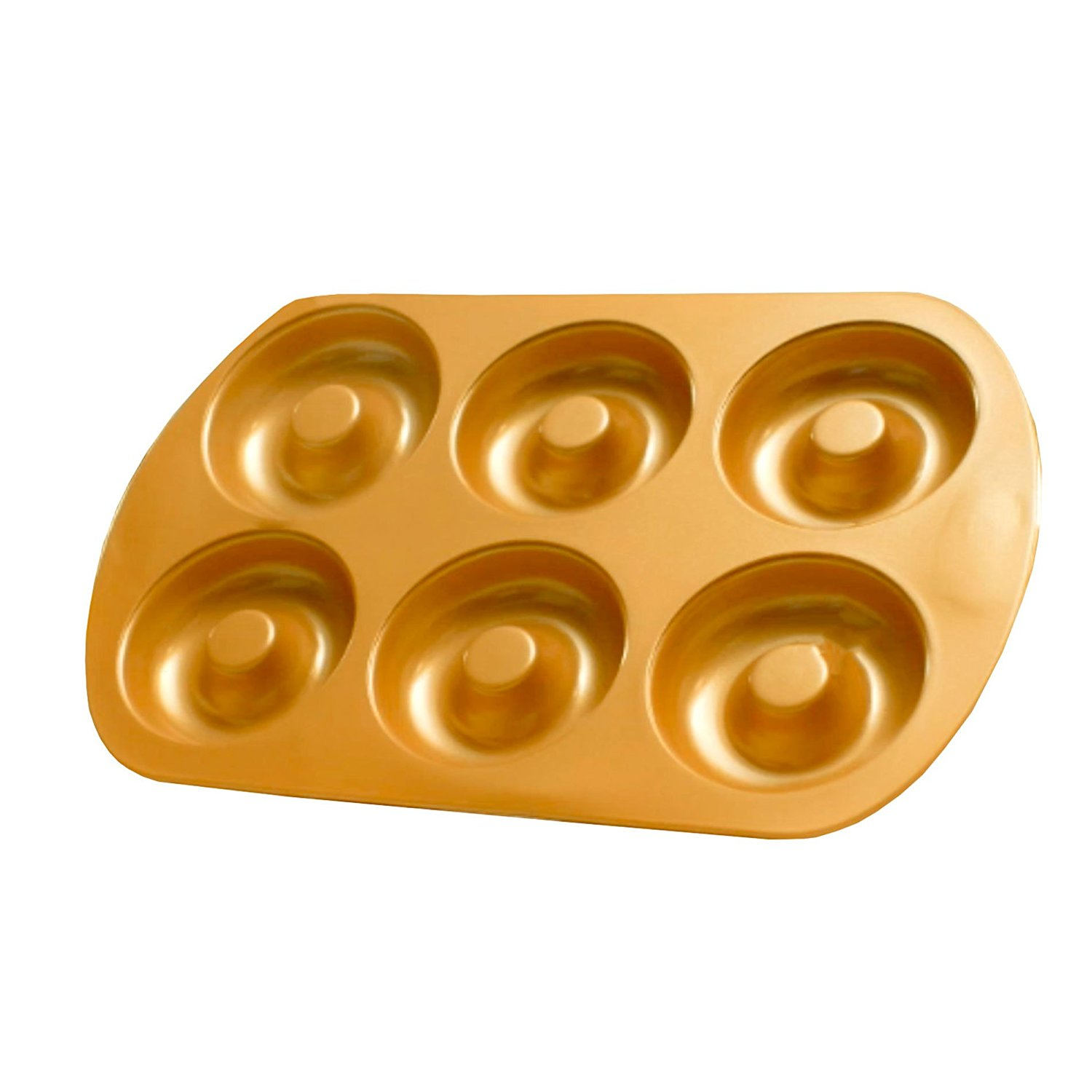 Red Copper Bakeware Set (Donut Pan) By Bulbhead