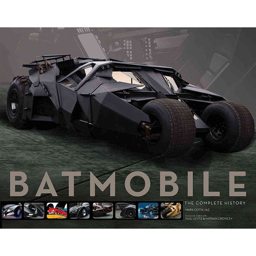 Batmobile: The Complete History, Engineering, Aesthetics & Function Through the Decades