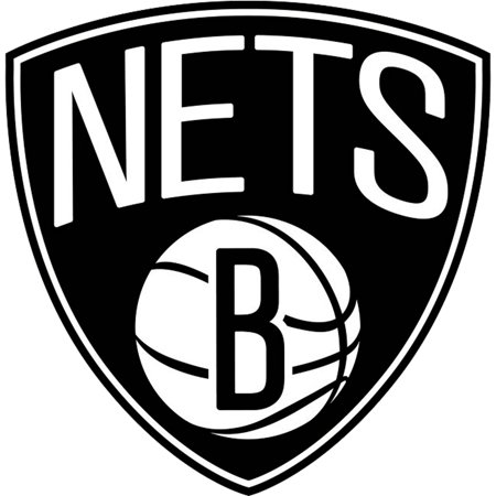 - Brooklyn Nets Fathead Logo Giant Removable Decal - No Size