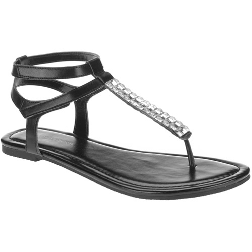 Faded Glory Women's SDL Jeweled Sandals