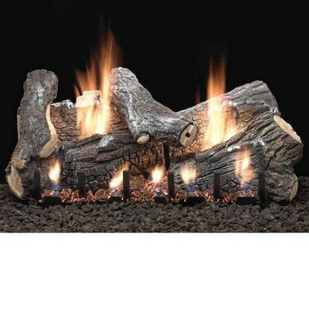 "18"" Sassafras Vent Free Gas Logs with Millivolt Control - NG"