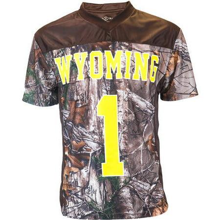 NCAAS Wyoming Men's Realtree Game Day Jersey