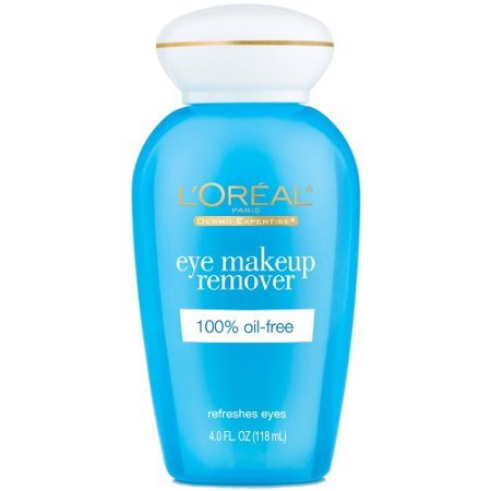 Makeup Remover Creamy (L'Oreal Paris Dermo-Expertise Eye Makeup Remover, 4 Fl Oz)