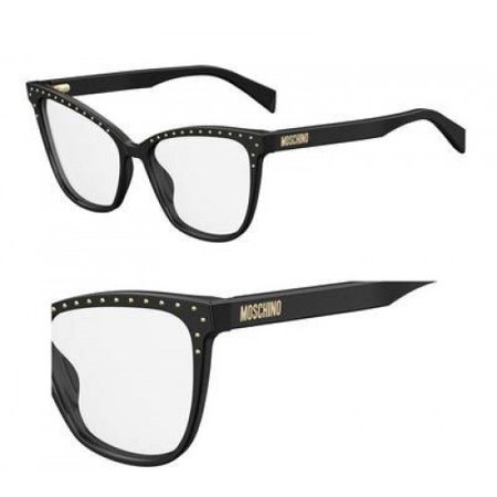 Moschino MO Mos505 Eyeglasses 0807 Black