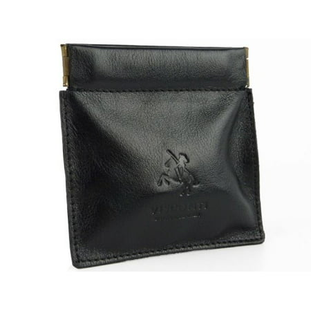 Visconti Mens Genuine Quality Small Italian Style Leather Coin Purse Pouch / ... Small Coin Pouch