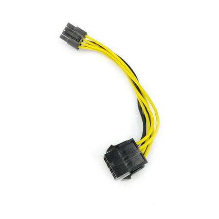 CPU Power Supply Cable 8Pin Extension Cable 8P to 8P Male to Female Cord Motherboard Extend Cable Adapter for Miner PC - image 2 of 6