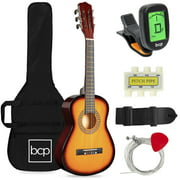 Best Choice Products 30in Kids Acoustic Guitar Beginner Starter Kit with Tuner, Strap, Case, Strings - Sunburst